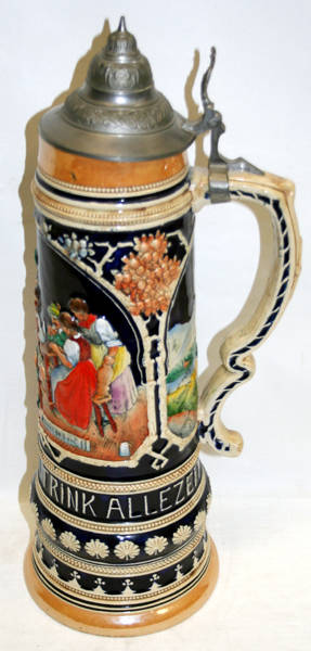 110151 GERMAN PORCELAIN STEIN