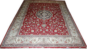 100073 TABRIZ WOOL PERSIAN RUG 1111 X 92