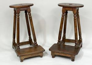 Pair of Similar French Prie Dieu E 18th Century