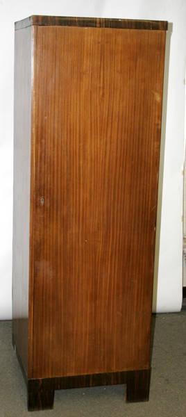 11189 GERMAN SINGLEDOOR ARMOIRE H 75 W 25 D 23
