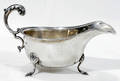 11168 ENGLISH STERLING SILVER SAUCE BOAT L 65