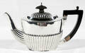 122210 ENGLISH STERLING SILVER INDIVIDUAL COFFEE POT