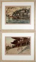 112149 HIROSHI YOSHIDA COLOR WOODBLOCK PRINTS