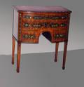 102246 HEPPLEWHITE STYLE MAHOGANY SIDE TABLE