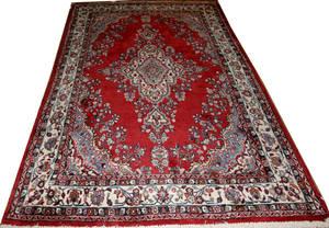 101223 IRANIAN HAND WOVEN CARPET 7 X 10