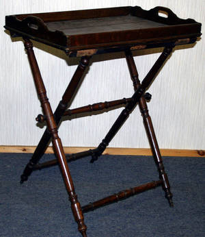 10182 ENGLISH OAK BUTLERS TABLE H 29 W 17 L 25