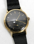 111371 GUBELIN YELLOW GOLD GENTLEMANS WRISTWATCH