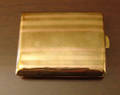 092154 ART DECO ROSE  GREEN GOLD MATCH PILL CASE