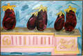 122294 NANCY MITCHNICK OIL ON CANVAS EGGPLANT