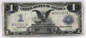 120277 US 1 SILVER CERTIFICATE BLACK EAGLE 1899