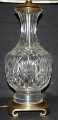 091236 WATERFORD CRYSTAL TABLE LAMP