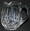 091229 WATERFORD LISMORE CRYSTAL PITCHER