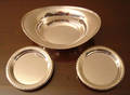 092255 STERLING SILVER NUT CANDY DISHES