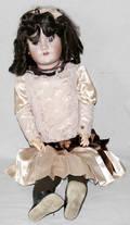 091316 HEINRICH HANDWERCK BISQUE HEAD GIRL DOLL