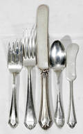 12344 ALVIN  OTHERS PARTIAL STERLING FLATWARE