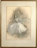 122423 GEORGIA CARROL PASTEL DANCING COUPLE