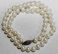 100326 SINGLE STRAND CULTURED PEARL NECKLACE