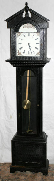 120434 MASON  SULLIVAN CO PAINTED GRANDFATHER CLOCK