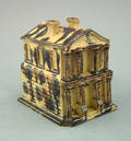 Earthenware model of a house 19th c