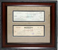 110417 GEORGE  J PAUL GETTY SIGNED CHECKS