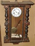 091390 VIENNESE WALNUT REGULATOR CLOCK