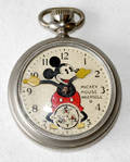 120503 INGERSOLL MICKEY MOUSE POCKET WATCH