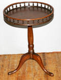 111598 QUEEN ANNE STYLE TABLE W GALLERY