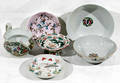 10519 PORCELAIN GROUPING 19TH C