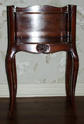 122573 FRENCH FRUITWOOD STAND H 27 W 16 D 11