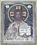 121563 RUSSIAN STYLE ENAMELED METAL ICON 575x475