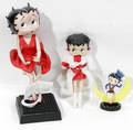 120540 BETTY BOOP PORCELAIN DANBURY MOON GLOW DOLLS