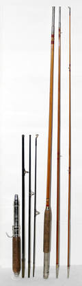 111631 TROUT FISHING RODS MONTAGUE  IMPERIAL