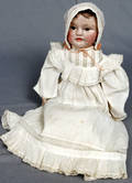 093118 PAINTED CANVAS OVER CLOTH BODY GIRL DOLL