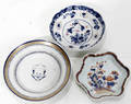 11536 CHINESE EXPORT DISHES 18THC 3 DIA 5  6