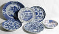 10544 CHINESE PORCELAIN GROUPING DIA 6595