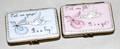 110561 ROCHARD LIMOGES PORCELAIN BABY BOXES