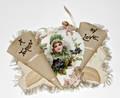 093158 ANTIQUE A TOKEN OF LOVE VALENTINE