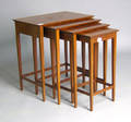 Set of Federal style nesting tables