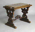 Two Victorian marble top stands
