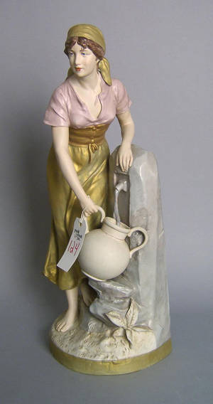Royal Dux figure of a woman