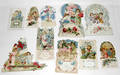093194 VICTORIAN FOLD OUT VALENTINE GROUPING