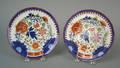 Two Gaudy Dutch plates 19th c
