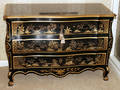 121024 JOHN WIDDICOMB CHINOISERIEDECORATED COMMODE