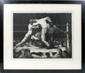 112006 GEORGE BELLOWS LITHOGRAPH STAG AT SHARKEYS