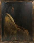 110019 JULIUS ROLSHOVEN OILCANVAS IROQUOIS CHIEF