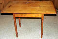101054 COUNTRY SHERATON PINE WORK TABLE