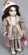 093020 JUMEAU BISQUE HEAD COMPOSITION BODY GIRL DOLL