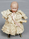 093043 HEUBACH MECHANICAL BISQUE  COMP BODY DOLL