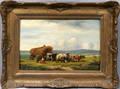 092037 A JURARDUS VAN PROOYEN OIL ON PANEL FARM