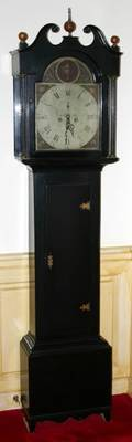 042098 P  F HAMILTON TALL CASE CLOCK W 205